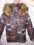 Куртка luhta на мальчика зимняя, 38р. Фото 1.