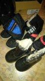 Отдам 2 пары аляски и ботиночки. Фото 1.