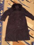 Шерстяное зимнее пальто. Фото 1.
