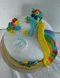 Детский торт. Фото 2.
