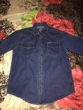 Джинсовая рубашка. Фото 1.