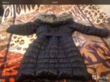 Пальто женское на пуху. Фото 1.