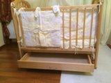 Кроватка детская с поперечным маятником. Фото 4.