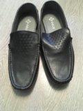 Новые мужские кожаные мокасины. Фото 4.