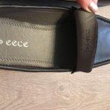 Новые мужские кожаные мокасины. Фото 3.