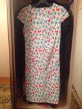 Приталеное платье качество 100%. Фото 3.