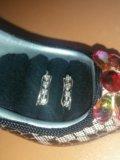 Серьги с бриллиантами. Фото 4.
