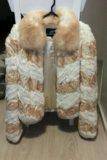 Шуба из шайханского кролика. Фото 1.