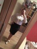Блузка женская белая. Фото 1.
