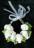 Украшения с цветами. Фото 3.