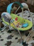 Детский шезлонг- качели. Фото 1.
