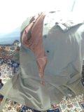 Пальто легкое ,велюровое, светло-коричневое. Фото 2.