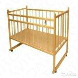 Детская кроватка+матрац. Фото 1.