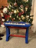 Детское музыкальное пианино. Фото 1.