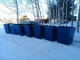Контейнеры тбо мусорные баки. Фото 1.