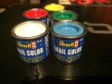 Базовый набор красок revell. Фото 1.
