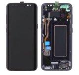 Samsung galaxy s8+ g955f дисплей / экран с рамкой. Фото 1.