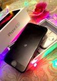 Защитное стекло для Apple iPhone 6 с цветной рамкой DF DFiColor-03(white)
