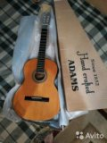Новая гитара  hand crаfted adams(canada)+подарок. Фото 4.