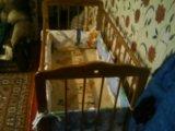Детская кроватка с матрасом в разобраном виде . Фото 3.