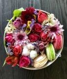 Цветы в коробке. Фото 1.