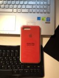 Silicone case iphone 7, 8 plus. Фото 1.