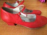 Продам туфли для народных танцев. Фото 1.