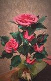 Цветы из фоамерана. Фото 1.