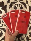 Silicone case iphone 7, 8 plus. Фото 2.