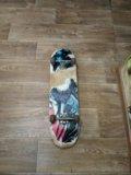 Подержанный скейтборт. Фото 2.