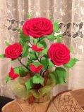 Цветы из фоамерана. Фото 3.