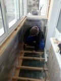 Остекление.обшивка и утепление балконов и лоджий. Фото 4.