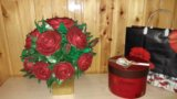 Цветы из фоамерана. Фото 4.