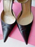 Туфли кожаные 36. Фото 2.