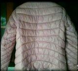 Куртка  , цвет розовая пудра ; р 46_48 ; новая!. Фото 3.