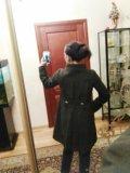 Пальто  осеннее/весеннее  zara 100% шерсть. Фото 4.