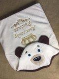 Детское полотенце с именной вышивкой. Фото 2.