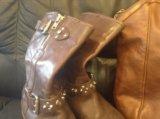 Сапоги guess 39 размер+ сумка pollini в подарок. Фото 2.