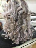 Кератиновое выпрямления волос. Фото 4.