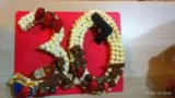 Торт,имбирное печенье,капкейки,фигурки из мастики. Фото 3.