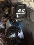 Лодка yamaran 300 с двигателем mercury 5,0. Фото 2.