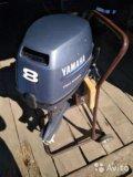 лодочный мотор yamaha f15cmhs видео