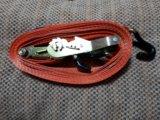 Утяжка груза строплента/крюки/3т.6м+натяжитель. Фото 1.