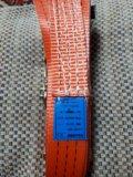 Утяжка груза строплента/крюки/3т.6м+натяжитель. Фото 2.