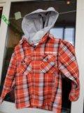 Рубашка толстовка 86-92. Фото 1.