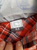 Рубашка толстовка 86-92. Фото 2.