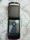 Телефон motorola razr v3. Фото 1.