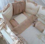 Комплект постельного бортик для мальчика. Фото 1.