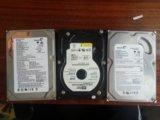 Жосткий диск 3 штуки. Фото 1.