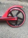 Самокат gb 200 красный. Фото 3.